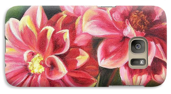 Galaxy Case featuring the painting Flowers For Mom I by Lori Brackett