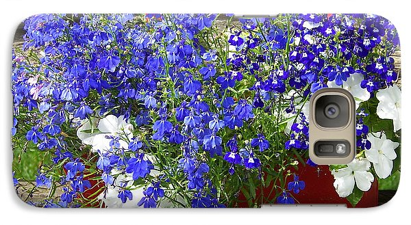 Galaxy Case featuring the photograph Flowers For Summer by Robin Regan