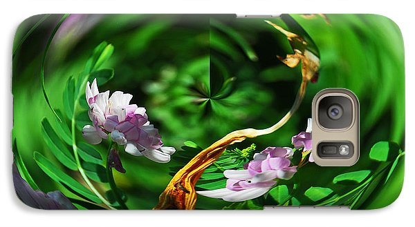 Galaxy Case featuring the photograph Flowers Gone Wild by Cindy Manero