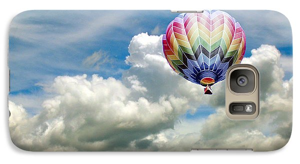 Galaxy Case featuring the photograph Flying High by Bonnie Muir