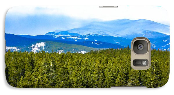 Galaxy Case featuring the photograph Fog In The Rockies by Shannon Harrington