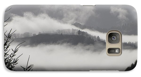 Galaxy Case featuring the photograph FOG by Katie Wing Vigil