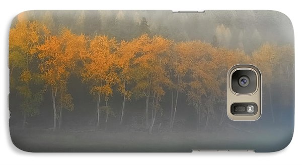 Galaxy Case featuring the photograph Foggy Autumn Morning by Albert Seger