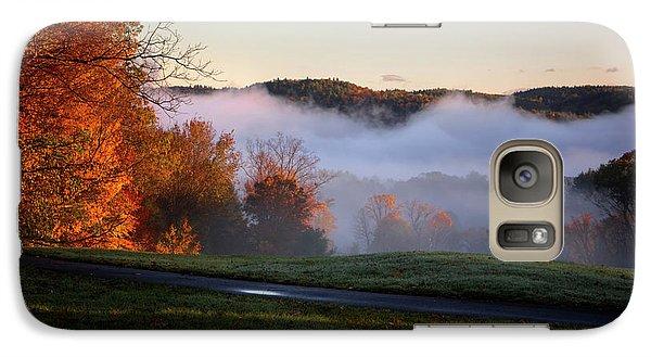 Galaxy Case featuring the photograph Foggy Dawn by Tom Singleton