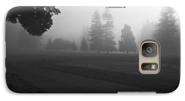 Galaxy Case featuring the photograph Foggy Fairway by Lennie Green