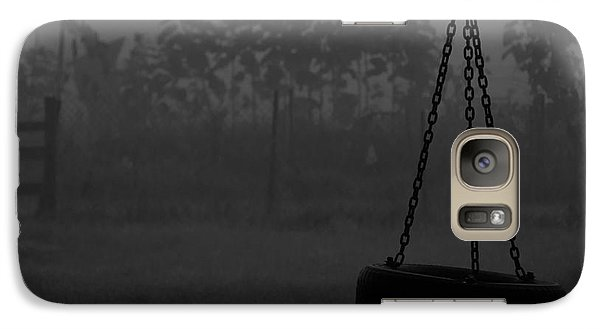 Galaxy Case featuring the photograph Foggy Playground by Cheryl Baxter