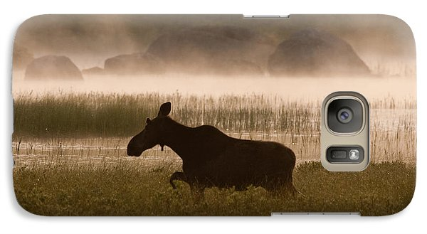 Galaxy Case featuring the photograph Foggy Stroll by Brent L Ander