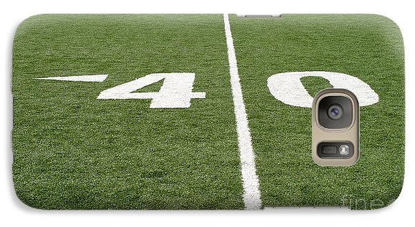 Galaxy Case featuring the photograph Football Field Forty by Henrik Lehnerer