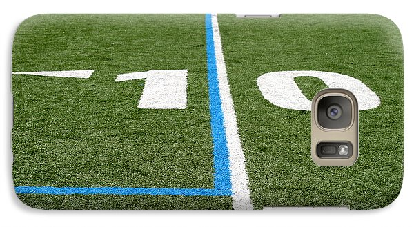 Galaxy Case featuring the photograph Football Field Ten by Henrik Lehnerer