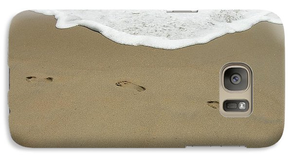 Galaxy Case featuring the photograph Footprints by Arlene Carmel