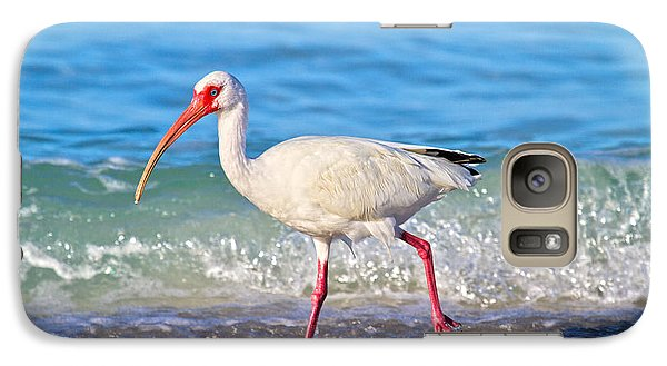 Ibis Galaxy S7 Case - For The Birds by Betsy Knapp