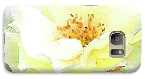 Galaxy Case featuring the photograph For You My Love by Roena King