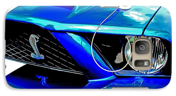 Galaxy Case featuring the digital art Ford Mustang Cobra by Tony Cooper