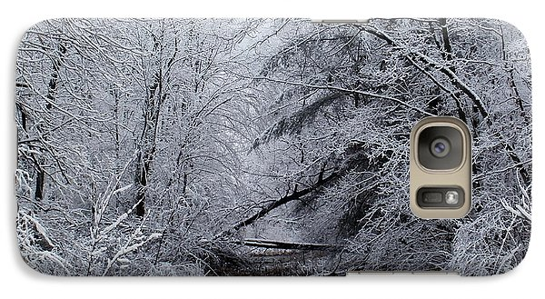 Galaxy Case featuring the photograph Forest Lace by Christian Mattison