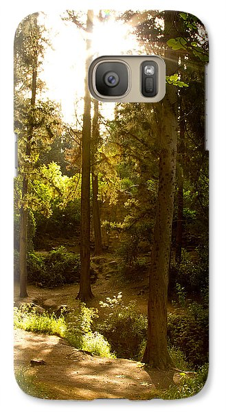 Galaxy Case featuring the photograph Forest by Nadya Ost