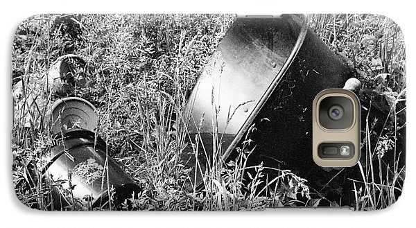 Galaxy Case featuring the photograph Forgotten by Chriss Pagani