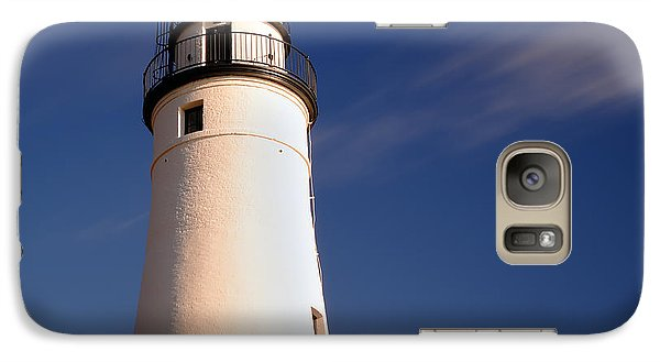 Galaxy Case featuring the photograph Fort Gratiot Lighthouse by Gordon Dean II