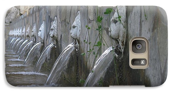 Galaxy Case featuring the photograph Fountain by David Gleeson