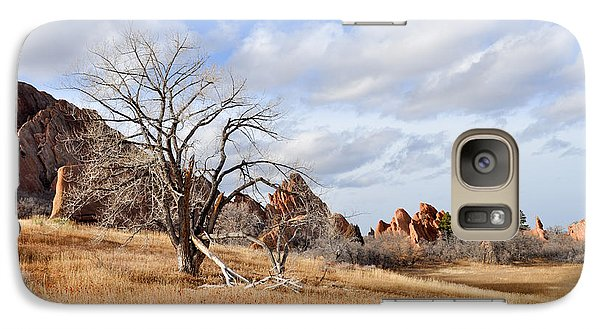 Galaxy Case featuring the photograph Fountain Valley by Cheryl McClure