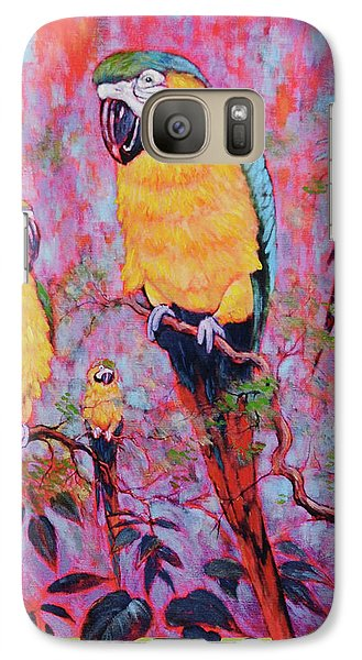 Galaxy Case featuring the painting Captive Souls Dreaming Of Home by Charles Munn