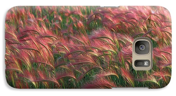 Galaxy Case featuring the photograph Foxtail Barley by Doug Herr