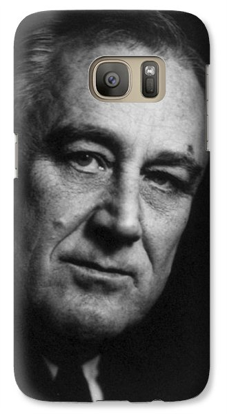 Galaxy Case featuring the photograph Franklin Delano Roosevelt  - President Of The United States Of America by International  Images