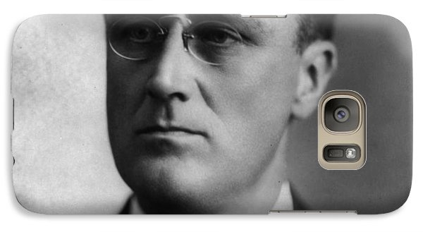 Galaxy Case featuring the photograph Franklin Delano Roosevelt by International  Images