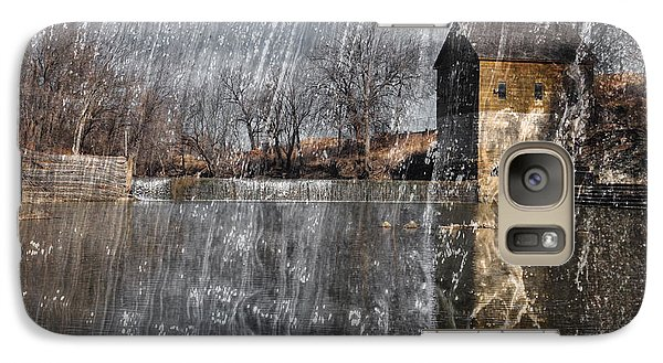 Galaxy Case featuring the photograph Fredonia Mill by Brian Duram