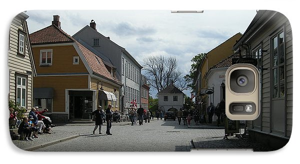 Galaxy Case featuring the photograph Fredrickstad Norway by Bonnie Goedecke