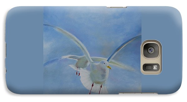 Galaxy Case featuring the painting Freedom by Annemeet Hasidi- van der Leij