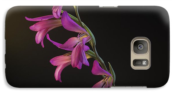 Galaxy Case featuring the photograph Freesia In The Spotlight by Susan Rovira