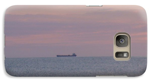 Galaxy Case featuring the photograph Freighter by Bonfire Photography