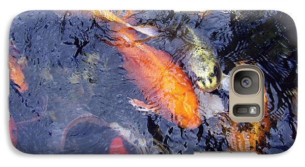 Galaxy Case featuring the photograph Frenzy by Dan Menta