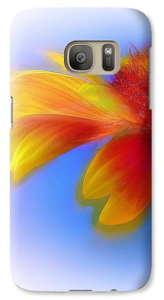 Galaxy Case featuring the photograph Fresh As A Daisy by Judi Bagwell
