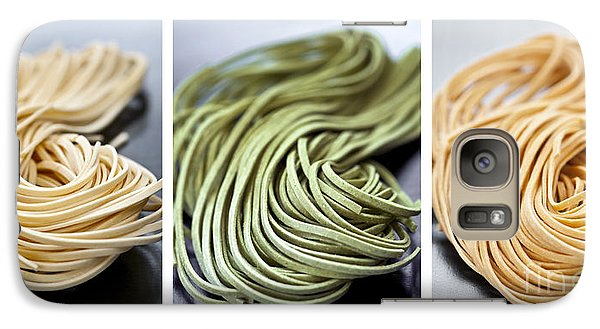 Fresh Tagliolini Pasta Galaxy Case by Elena Elisseeva