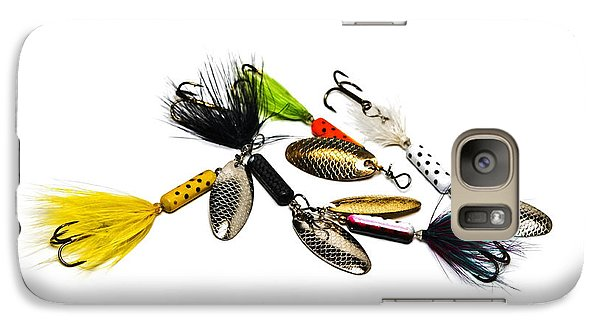 Galaxy Case featuring the photograph Freshwater Fishing Lures by Susan Leggett