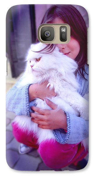 Galaxy Case featuring the photograph Friends by Richard Piper