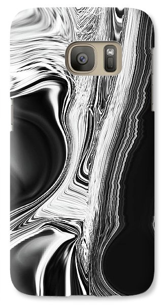 Galaxy Case featuring the digital art Friends by Roena King