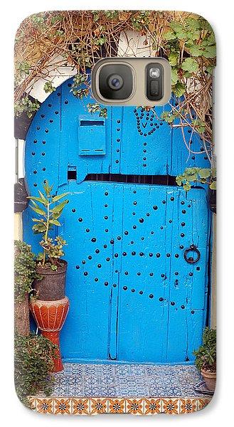 Galaxy Case featuring the photograph Friendship Door by Eva Kaufman