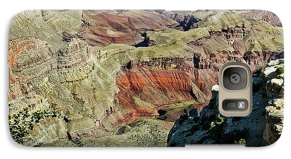 Galaxy Case featuring the painting From Yaki Point 6 Grand Canyon by Bob and Nadine Johnston