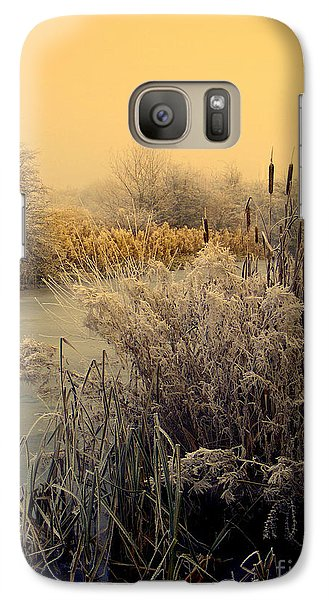 Galaxy Case featuring the photograph Frost by Linsey Williams