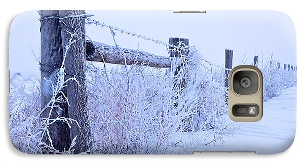 Galaxy Case featuring the photograph Frosty Morning by Monte Stevens