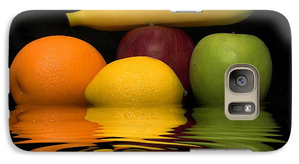 Galaxy Case featuring the photograph Fruity Reflections by Cindy Haggerty