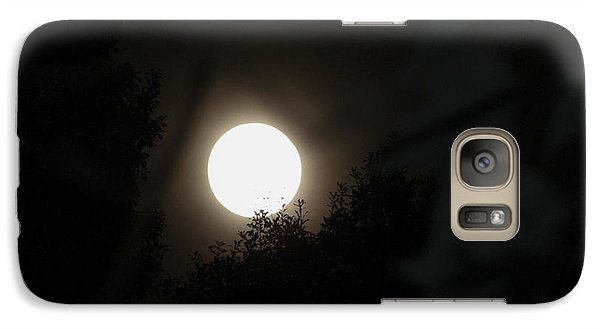 Galaxy Case featuring the photograph Full Moon Beauty by Ester  Rogers