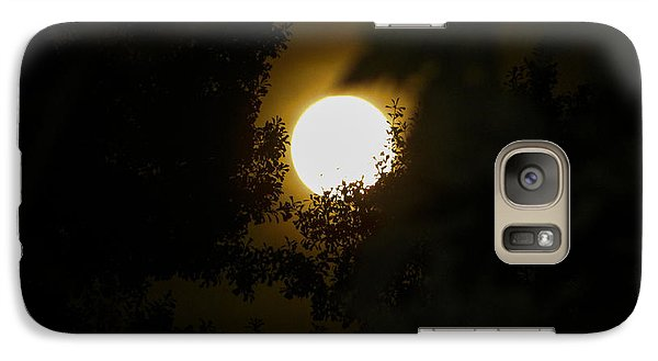 Galaxy Case featuring the photograph Full Moon by Ester  Rogers