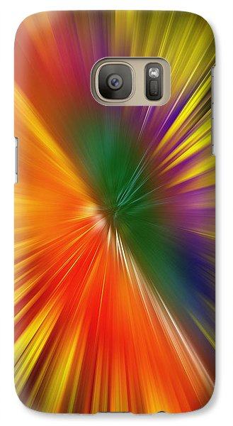 Galaxy Case featuring the digital art Full Of Energy by Saad Hasnain