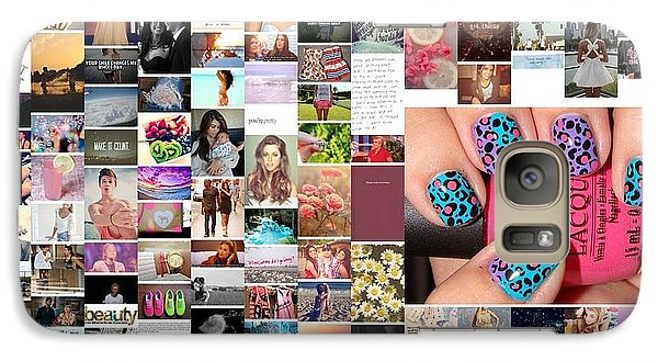 Galaxy Case featuring the photograph Funky Nails by Holley Jacobs
