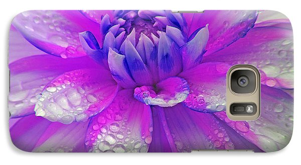 Galaxy Case featuring the photograph Fusia Flower by Tyra  OBryant