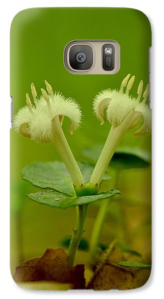Galaxy Case featuring the photograph Fuzzy Blooms by JD Grimes