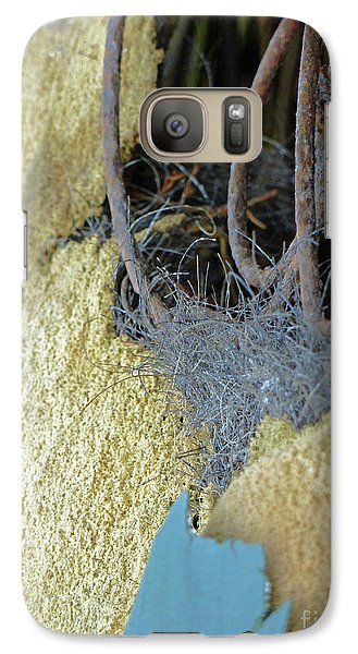Galaxy Case featuring the photograph Fuzzy Notion by Newel Hunter